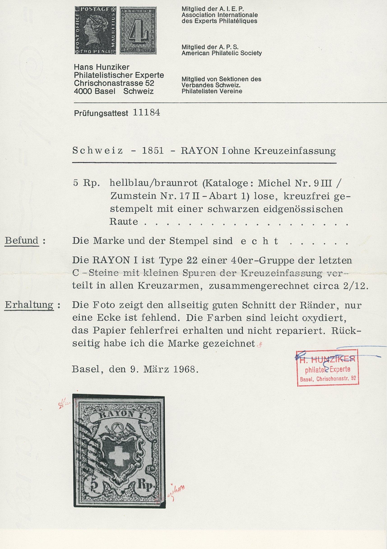 Lot 1105 - Switzerland swiss federal post -  Sellschopp Auktionen GmbH Auction #1